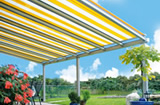 Cover-Tech Retractable Awning - Adalia Extreme awning, best awning