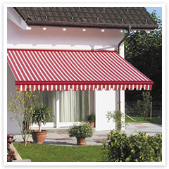 The right awning can enhance the beauty of your home.